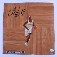 Chauncey Billups Signed Nuggets 12x12 Floorboard (JSA COA) (See Description) at PristineAuction.com