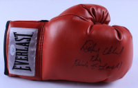 """Dicky Eklund Signed Everlast Boxing Glove Inscribed """"The Pride of Lowell"""" (JSA COA) (See Description) at PristineAuction.com"""