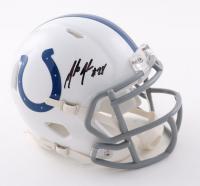 Marlin Jackson Signed Colts Speed Mini Helmet (JSA COA) at PristineAuction.com