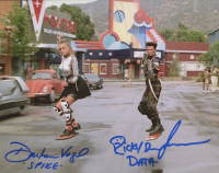 """Darlene Vogel & Ricky Dean Logan Signed """"Back to The Future II"""" 8x10 Photo Inscribed """"Spike"""" & """"Data"""" (AutographCOA COA) at PristineAuction.com"""