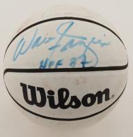 "Walt Frazier Signed Mini NBA Basketball Inscribed ""HOF 87"" (JSA COA) (See Description) at PristineAuction.com"