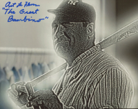 "Art LaFleur Signed ""The Sandlot"" 8x10 Photo Inscribed ""The Great Bambino"" (AutographCOA COA) at PristineAuction.com"