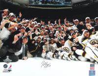 Patrice Bergeron Signed Bruins 16x20 Photo (Bergeron COA & YSMS Hologram) at PristineAuction.com