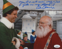 """Ed Asner Signed """"Elf"""" 8x10 Photo With Extensive Inscription (JSA COA) at PristineAuction.com"""