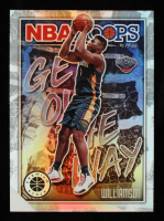 Zion Williamson 2019-20 Hoops Premium Stock Get Out the Way #17 RC at PristineAuction.com