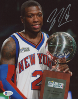 Nate Robinson Signed Knicks 8x10 Photo (Beckett Hologram) at PristineAuction.com