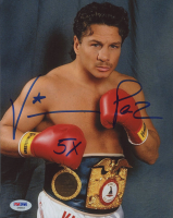 "Vinny Paz Signed 8x10 Photo Inscribed ""5x"" (PSA COA) at PristineAuction.com"