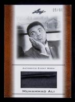 Muhammad Ali 2011 Leaf Muhammad Ali Event Worn Memorabilia Bronze #EW23 #05/60 at PristineAuction.com