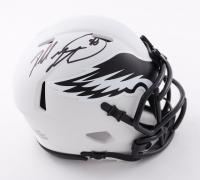 Dallas Goedert Signed Eagles Lunar Eclipse Alternate Speed Mini Helmet (Fanatics Hologram) at PristineAuction.com