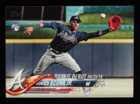 Ronald Acuna Jr. 2018 Topps Update #US252 RD RC at PristineAuction.com