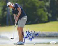 """Juli Inkster Signed 8x10 Photo Inscribed """"HOF 99"""" (JSA COA) at PristineAuction.com"""