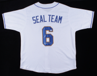 """Robert O'Neill Signed Jersey Inscribed """"Never Quit!"""" (PSA COA) at PristineAuction.com"""