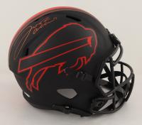 Josh Allen Signed Bills Full-Size Eclipse Alternate Speed Helmet (Beckett Hologram) (See Description) at PristineAuction.com