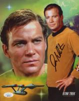 "William Shatner Signed ""Star Trek"" 8x10 Photo (JSA COA) (See Description) at PristineAuction.com"