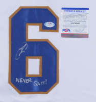 """Robert O'Neill Signed SEAL Team 6  Jersey Inscribed """"Never Quit!"""" (PSA COA) at PristineAuction.com"""