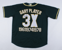 """Gary Player Signed Jersey Inscribed """"61 74 78"""" (JSA COA) at PristineAuction.com"""