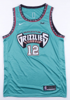 Ja Morant Signed Grizzlies Game Jersey (JSA Hologram) at PristineAuction.com