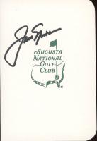 Jack Nicklaus Signed Masters Score Card (JSA COA) at PristineAuction.com