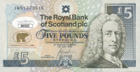 Jack Nicklaus Signed The Royal Bank of Scotland 5 Pound Note (JSA COA) at PristineAuction.com
