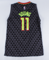 Trae Young Signed Hawks Jersey (JSA Hologram) at PristineAuction.com