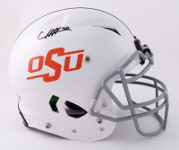 Chuba Hubbard Signed Oklahoma State Cowboys Full-Size Authentic O- Field Vengeance Helmet (Beckett Hologram) (See Description) at PristineAuction.com