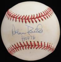 "Robin Roberts Signed ONL Baseball Inscribed ""HOF 76"" (JSA COA) at PristineAuction.com"