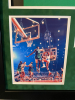 Bill Russell Signed 33x40 Custom Framed Jersey Display (Hollywood Collectibles COA) at PristineAuction.com
