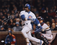 Sammy Sosa Signed Cubs 16x20 Photo (Beckett COA) (See Description) at PristineAuction.com