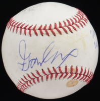"""Gavin Lux Signed OML Baseball Inscribed """"20th Overall 2016 1st Round"""" (PSA Hologram) at PristineAuction.com"""