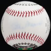 Stan Musial Signed LE Stan Musial Career Stat Logo Baseball (JSA COA) at PristineAuction.com