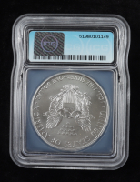 2016-(P) American Silver Eagle $1 One Dollar Coin (ICG MS70) at PristineAuction.com