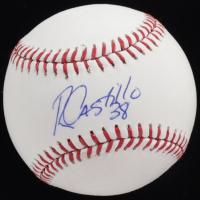 Rusney Castillo Signed OML Baseball (PSA COA) at PristineAuction.com
