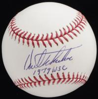 """Kent Tekulve Signed OML Baseball Inscribed """"1979 WSC"""" (JSA COA) at PristineAuction.com"""