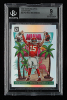 Patrick Mahomes II 2020 Donruss Optic Downtown #29 (BGS 9) at PristineAuction.com