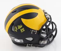 Jake Butt Signed Michigan Wolverines Matte Black Speed Mini Helmet (Beckett Hologram) at PristineAuction.com