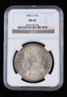 1885-O Morgan Silver Dollar (NGC MS65) (Toned) at PristineAuction.com