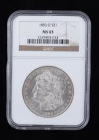 1883-O Morgan Silver Dollar (NGC MS63) at PristineAuction.com