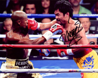 Manny Pacquiao Signed 8x10 Photo (Pacquiao COA) (See Description) at PristineAuction.com