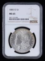 1885-O Morgan Silver Dollar (NGC MS65) at PristineAuction.com