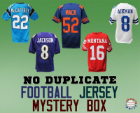 Schwartz Sports NO DUPLICATES Football Jersey Signed Mystery Box - Series 2 (Limited to 100) (100 DIFFERENT PLAYERS IN SERIES – NO DUPLICATES!!) at PristineAuction.com