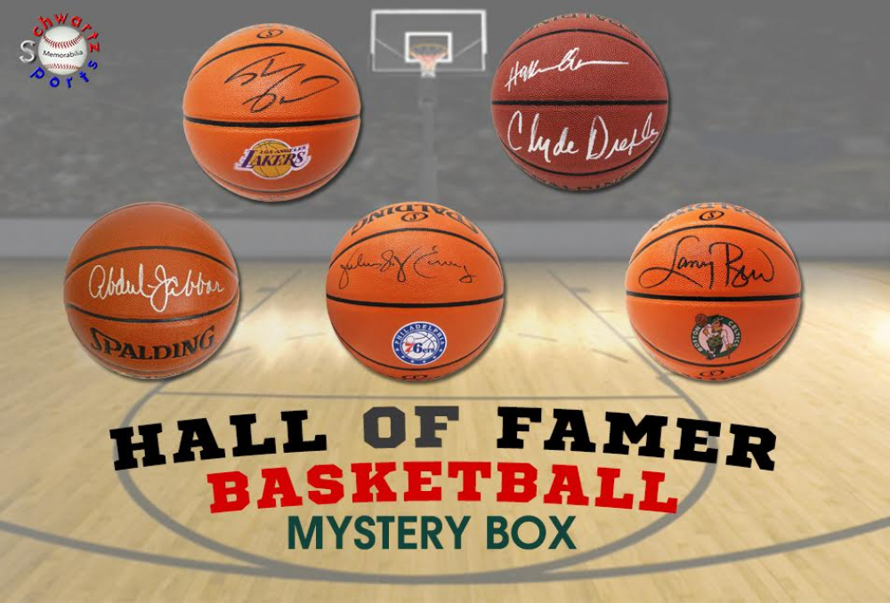 Schwartz Sports Basketball Hall of Famer Signed Basketball Mystery Box - Series 5 (Limited to 100)(ALL BASKETBALLS ARE SIGNED BY HALL OF FAMERS!!!) at PristineAuction.com