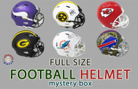 Schwartz Sports Full-Size Football Helmet Signed Mystery Box Series 22 (Limited to 150) at PristineAuction.com