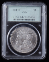 1884-O Morgan Silver Dollar (PCGS MS64) OGH at PristineAuction.com