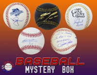 Schwartz Sports Signed Baseball Mystery Box - Series 8 (Limited to 100) at PristineAuction.com