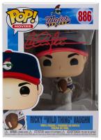 "Charlie Sheen Signed ""Major League"" #886 Ricky ""Wild Thing"" Vaughn Funko Pop! Vinyl Figure (PSA COA) at PristineAuction.com"