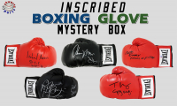 Schwartz Sports INSCRIBED Boxing Glove Signed Mystery Box - Series 7 (Limited to 75)  (ALL GLOVES HAVE INSCRIPTIONS!!) at PristineAuction.com