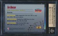 Tim Duncan 1997-98 Bowman's Best Picks Atomic Refractors #BP8 (BGS 10) at PristineAuction.com