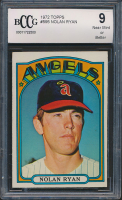 Nolan Ryan 1972 Topps #595 (BCCG 9) at PristineAuction.com