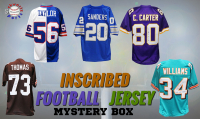 Schwartz Sports INSCRIBED Football Jersey Signed Mystery Box - Series 1 (Limited to 100) (ALL JERSEYS HAVE INSCRIPTIONS!!) at PristineAuction.com
