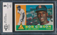 Bob Gibson 1960 Topps #73 (BCCG 9) at PristineAuction.com
